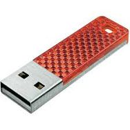 SanDisk Cruzer Facet 4GB Red SDCZ55-004G-B35R USB Memory Stick