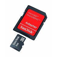 SanDisk microSD 2GB with microSD to SD Adapter SDSDQB-002G-B35 memorijska kartica