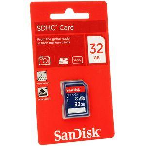 SanDisk SDHC 32GB 15MB/s Class 4 Speed SDSDB-032G-B35 memorijska kartica