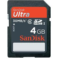 SanDisk SDHC 4GB Max. Write Speed 30M/Bs Min. Write Speed: 6MB/s Class 6 SDSDH-004G-U46 memorijska kartica