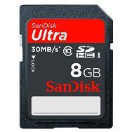 SanDisk SDHC 8GB Max. Read 30M/Bs Min. Write 10MB/s Class 10 SDSDU-008G-U46 memorijska kartica