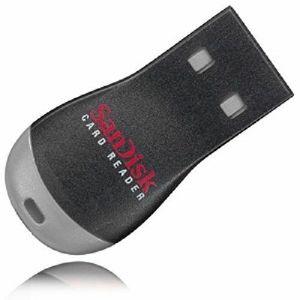 SanDisk USB microSD, microSDHC, microSDXC Reader + SD Adapter čitač kartica SDDRK-121-B35