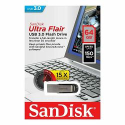 SanDisk usb STICK SDCZ73-064G-G46 Ultra Flair USB 3.0.64GB