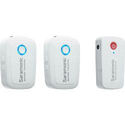 Saramonic Blink500 B2W 2.4G Dual Channel Wireless Microphone Kit (TXW + TXW + RXW) Snow White bijeli bežični mikrofon