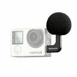 Saramonic Microphone G-Mic for GoPro HERO 4, 3+, 3 Black, Silver i White Edition mikrofon za akcijske kamere
