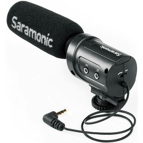 Saramonic SR-M3 Mini Directional Condenser Microphone mikrofon 3.5mm