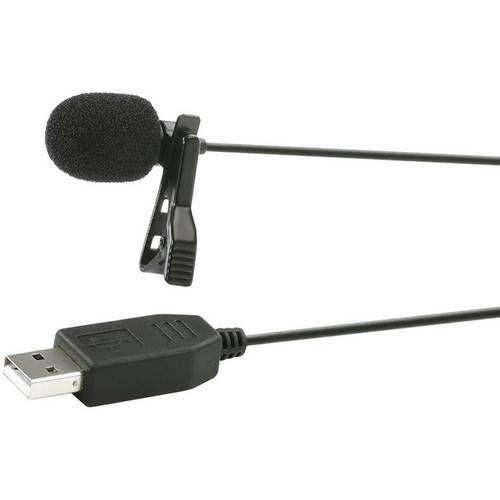 Saramonic ULM5 USB Lavalier Clip-on Computer Microphone for PC and Mac