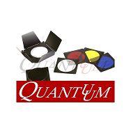 Set filtera i saća za studijske bljeskalice 4 boje + sać + reflektor barndoor