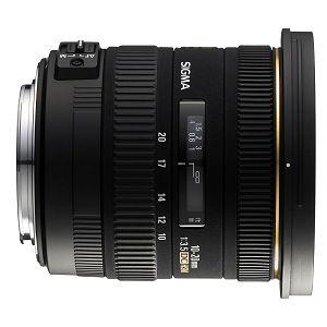 Sigma 10-20mm f/3.5 EX DC HSM ultra širokokutni objektiv za Nikon DX 10-20/3,5 10-20 F3,5 F3.5 3.5 autofocus wide angle zoom lens (202955)