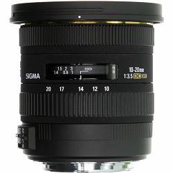 Sigma 10-20mm f/3.5 EX DC HSM ultra širokokutni objektiv za Sigma SA 10-20/3,5 10-20 F3,5 F3.5 3.5 autofocus wide angle zoom lens (202956)