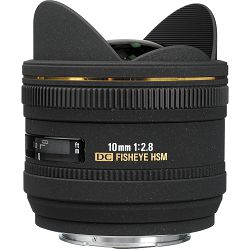 Sigma 10mm f/2.8 EX DC HSM Fisheye objektiv za Canon EF-S fish-eye lens 10 F2.8 f/2,8 2,8 (477954)