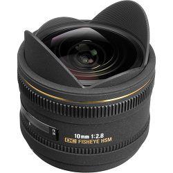 Sigma 10mm f/2.8 EX DC HSM Fisheye objektiv za Nikon DX fish-eye lens 10 F2.8 f/2,8 2,8 (477955)