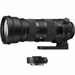 Sigma 150-600mm f/5-6.3 DG OS HSM Sport + TC-1401 1.4x Teleconverter komplet telefoto objektiv i telekonverter za Sigma SA 150-600/5-6,3 150-600 F5-6.3