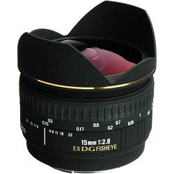 Sigma 15/2,8 EX DG Diagonal-Fisheye za Sony A-mount 15mm F2.8 15 2.8 fish-eye objektiv