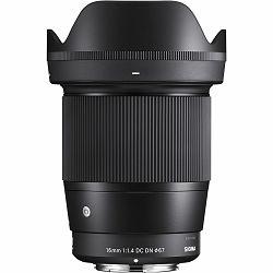 Sigma 16mm f/1.4 DC DN C Contemporary wide angle prime Lens širokokutni objektiv za Sony E-mount (402965)