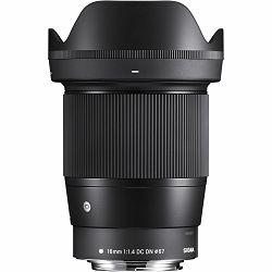 Sigma 16mm f/1.4 DC DN Contemporary objektiv za Canon EF-M