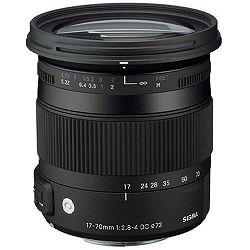 Sigma 17-70mm f/2.8-4 DC OS HSM Macro Contemporary standardni zoom objektiv za Sigma SA 17-70 F2.8-4.0 17-70/2,8-4,0 2,8-4 (884956)