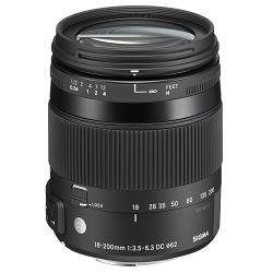 Sigma 18-200mm 3.5-6.3 DC Macro HSM (C) za Sony A-mount allround objektiv 18-200 f/3.5-6.3