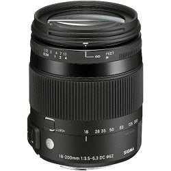 Sigma 18-200mm 3.5-6.3 DC Macro OS HSM Canon allround objektiv 18-200 f/3.5-6.3