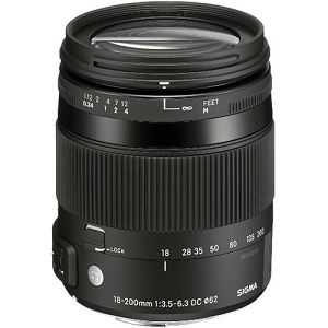 Sigma 18-200mm 3.5-6.3 DC Macro OS HSM Nikon