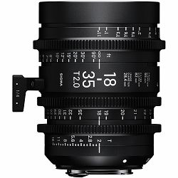 Sigma 18-35mm T2 CINE High speed zoom širokokutni objektiv za PL mount