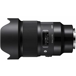 Sigma 20mm f/1.4 DG HSM ART širokokutni objektiv za Sony E-mount Full Frame FE (412965)