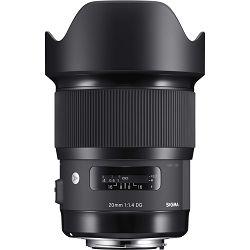 Sigma 20mm F/1,4 DG HSM ART za Canon širokokutni objektiv lens 20 f/1.4 1.4