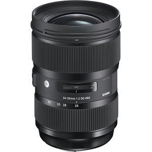 Sigma 24-35mm f/2 DG HSM Art lens 24-35 2.0 objektiv za Nikon