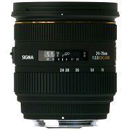 Sigma 24-70/2,8 EX DG HSM Canon standardni objektiv 24-70mm f/2.8 24-70 2.8 IF Autofocus Lens