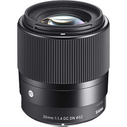 Sigma 30mm f/1.4 DC DN Contemporary Black širokokutni objektiv za Sony E-mount prime lens 30 F/1,4 30 F1.4 f/1.4 (302965)