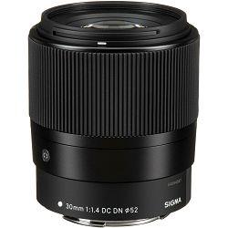 Sigma 30mm f/1.4 DC DN Contemporary objektiv za Canon EF-M