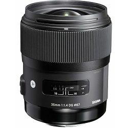 Sigma 35mm f/1.4 DG HSM ART širokokutni objektiv za Sigma SA mount (340956)