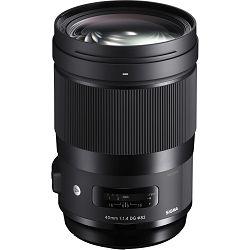 Sigma 40mm f/1.4 DG HSM ART objektiv za Nikon FX (332955)