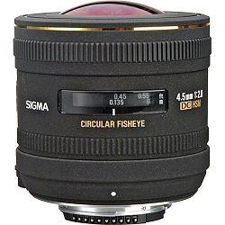 Sigma 4.5mm f/2.8 EX DC HSM Fisheye objektiv za Nikon DX cirkularni fish-eye lens 4,5 F2.8 4,5/2,8 f/2,8 (486955)