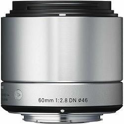 Sigma 60mm/2.8 EX DN Micro ART Sony E-mount Silver srebreni objektiv 60mm 2.8 F2.8 za mirrorless fotoaparate