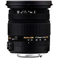 Sigma 17-50 2,8 EX DC OS HSM Canon 17-50mm 2.8 F2.8 F/2.8 objektiv