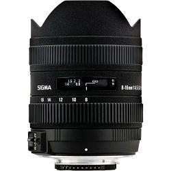 Sigma 8-16mm f/4.5-5.6 DC HSM ultra širokokutni objektiv za Nikon 8-16/4,5-5,6 8-16 4.5-5.6 Ultra-Wide Zoom Lens