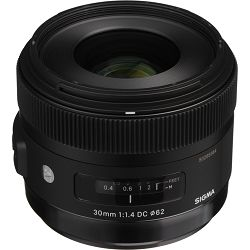 Sigma Art 30/1.4 EX DC HSM Art Sony A-mount prime objektiv 30mm F/1,4 30 F1.4 f/1.4