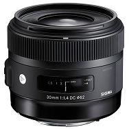 Sigma Art 30/1.4 EX DC HSM Art Canon prime objektiv 30mm F/1,4 30 F1.4 f/1.4