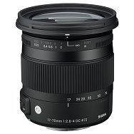 Sigma 17-70mm f/2.8-4 DC OS HSM Macro Contemporary standardni zoom objektiv za Nikon DX 17-70 F2.8-4.0 17-70/2,8-4,0 2,8-4 (884955)
