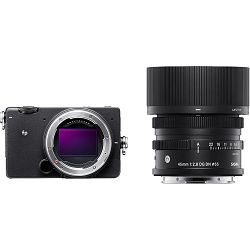 Sigma FP + 45mm f/2.8 DG DN Mirrorless bezrcalni digitalni fotoaparat (1A900)
