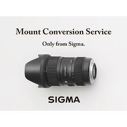 Sigma zamijena mount-a na objektivu Change Your Mount