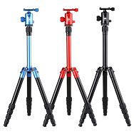 SIRUI T-005 tripod red Alu with head C-10R