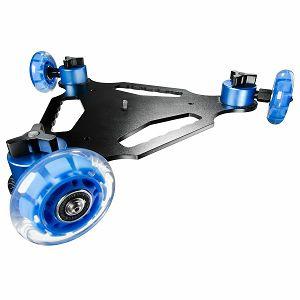 Skate Dolly cinema DSLR klizni video stabilizator cam skater s 3 rote
