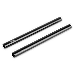 SmallRig 2pcs 15mm Black Aluminum Alloy Rod (M12-20cm) 8inch komplet 20cm šipke za video rig (1051)