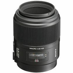 Sony A 100mm f/2.8 Macro 1:1 objektiv za A-mount 100 F2.8 2.8 f/2,8 SAL-100M28 SAL100M28 (SAL100M28.AE)- Cash Back