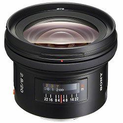 Sony A 20mm f/2.8 širokokutni objektiv za A-mount 20 F2.8 2.8 f/2,8 SAL-20F28 SAL20F28 (SAL20F28.AE)