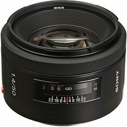 Sony A 50mm f/1.4 standardni objektiv za A-mount 50 F1.4 1.4 F/1,4 SAL-50F14 SAL50F14 (SAL50F14.AE)