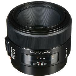 Sony A 50mm f/2.8 Macro standardni objektiv za A-mount 50 F2.8 2.8 f/2,8 SAL-50M28 SAL50M28 (SAL50M28.AE)