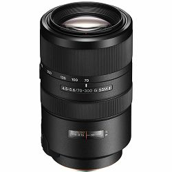Sony A 70-300mm f/4.5-5.6 G SSM II telefoto objektiv za A-mount Full Frame 70-300 F4.5-5.6 SSMII SAL-70300G2 SAL70300G2 (SAL70300G2.SYX)